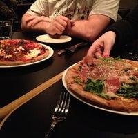 Photo taken at Dough Pizzeria Napoletana by Nikki on 1/5/2013