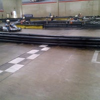 Photo taken at Kart World Belmont by Anthony M. on 3/2/2013