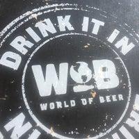 Das Foto wurde bei World of Beer von Todd I. am 8/13/2016 aufgenommen