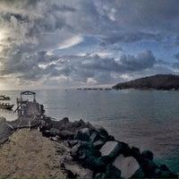 Photo taken at Pantai Timur Pangandaran by Davidson N. on 3/14/2016