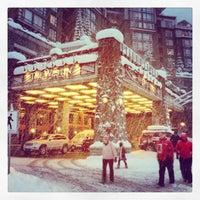 Photo taken at The Westin Resort & Spa, Whistler by SKI BUMS on 1/13/2013