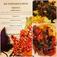 Photo taken at Sol Food Bar And Grill by ALEKSA M. on 10/29/2013