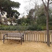 Photo taken at Parc de Monterols by Ramon V. on 1/26/2014