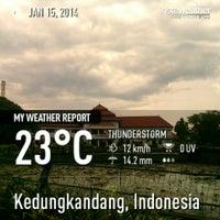 Photo taken at SMA Negeri 6 Malang by Zaki M. on 1/15/2014