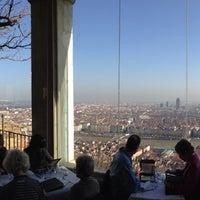 Photo taken at Restaurant de Fourvière by Mat H. on 1/10/2014