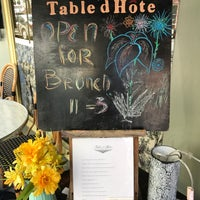 Photo taken at Table d'Hote by Tash C. on 4/23/2017