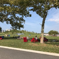 Photo taken at Picnic Point @ Governors Island by Tash C. on 8/27/2017
