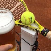 Photo taken at Tenis Baník Praha by Patrik H. on 8/22/2016
