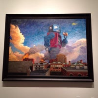 Photo taken at Corey Helford Gallery by Nick Gusz M. on 8/11/2013