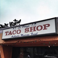 Photo taken at La Playa Taco Shop by Nick Gusz M. on 7/27/2013