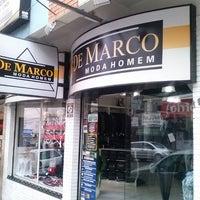 Photo taken at De Marco Moda Homem by Marco L. on 5/4/2013