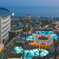 Photo taken at Crystal Admiral Resort Suites & Spa by Mehmet B. on 10/17/2014
