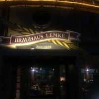 Photo taken at Brauhaus Lemke by Vivek C. on 2/22/2015