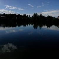 Photo taken at пожарный пруд by Dasha B. on 11/3/2014
