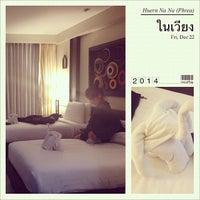 Photo taken at โรงแรมเฮือนนานา by Intira W. on 12/13/2014