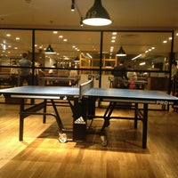 Photo taken at Shibuya Ping Pong Club by Norio F. on 3/26/2013
