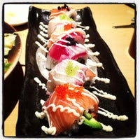 Photo taken at Sushi Tei by Melody . on 3/4/2013