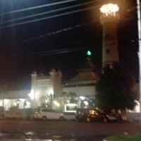 Photo taken at Masjid Jami' Kauman Pekalongan by Dhony N. on 7/20/2014