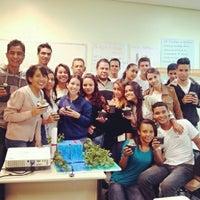 Photo taken at SENAC by Luiz Fernando B. on 6/27/2014