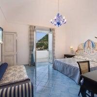 Photo taken at Palazzo Marzoli Resort Positano by Diego M. on 9/15/2013