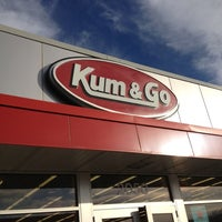 Photo taken at Kum & Go by eric l. on 11/18/2012