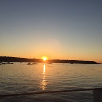 Photo taken at Cold Spring Harbor Beach Club by Andy C. on 8/7/2016