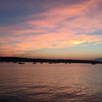 Photo taken at Cold Spring Harbor Beach Club by Andy C. on 7/3/2017