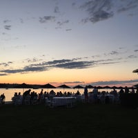 Photo taken at Cold Spring Harbor Beach Club by Andy C. on 7/5/2017