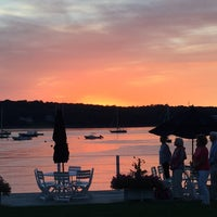 Photo taken at Cold Spring Harbor Beach Club by Andy C. on 9/5/2016