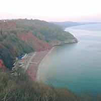 Photo taken at Babbacombe Downs by Lauren G. on 3/12/2016