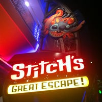 Photo taken at Stitch's Great Escape! by John W. on 4/1/2013