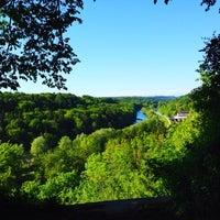 Photo taken at Burg Schwaneck by Kerstin H. on 5/20/2014