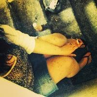 Photo taken at Old Flat Hostel by 🔯Jemma P. on 4/27/2014