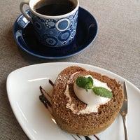 Photo taken at cafe SORA by ゆぅ on 12/17/2014