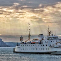 Photo taken at Scillonian III (Penzance -> St Mary's) by Chris O. on 4/23/2016