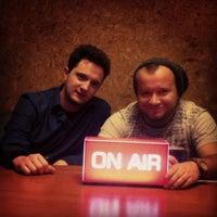 Photo taken at Radio RMF FM by Szymon on 12/10/2013