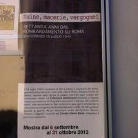 Photo taken at Casa della Memoria e della Storia by Alessandro C. on 9/16/2013