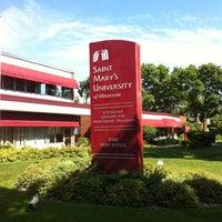 Photo taken at Saint Mary's University of Minnesota by Stacia V. on 7/22/2013