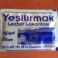 Photo taken at Yeşilırmak Restaurant by özay ö. on 3/21/2016