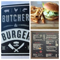 Photo taken at Butcher & The Burger by McNair G. on 1/4/2013
