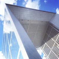 Photo taken at Grande Arche de la Défense by Fabio M. on 7/29/2013