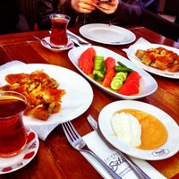 Photo taken at Emirgan Sütiş by Pinar K. on 1/20/2013