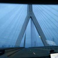 Photo taken at Flintshire Bridge by JC on 5/17/2013