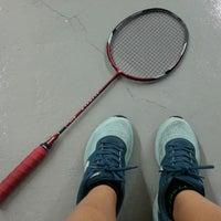 Photo taken at Penang Badminton Academy by Lim K. on 9/16/2014