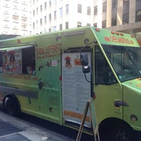 Photo taken at Comme Ci Comme Ça - Chef Samir Truck by Jill X. on 7/25/2014