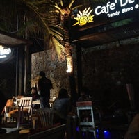 Photo taken at Cafe' De Beach by Panakorn P. on 11/10/2012