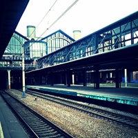 Photo taken at Ladozhsky Railway Station by Галя М. on 10/6/2013