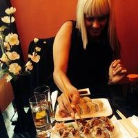 Photo taken at AmiJami Sushi by Pasha M. on 6/19/2014