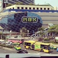 Photo taken at MBK Center by Orange K. on 3/11/2013