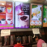 Photo taken at Chatime 日出茶太 by David Z. on 2/24/2013